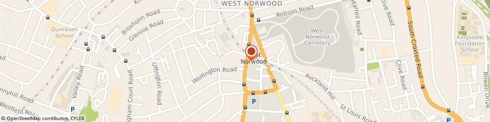 Route/map/directions to Gsm Gadgets, SE27 0JD London, 52 Knights Hill