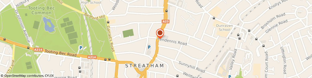 Route/map/directions to Lloyds Bank, SW16 1BE Streatham, 186 Streatham High Road