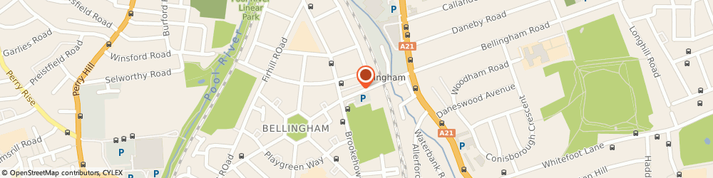 Route/map/directions to Bellingham Dry Cleaners, SE6 3BT London, 30 RANDLESDOWN RD