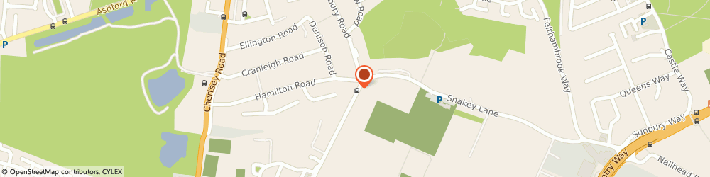 Route/map/directions to Abbey Cars, TW13 4PJ Feltham, 7 Hamilton Parade Groveley Rd