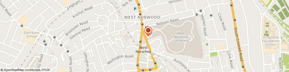 Route/map/directions to D&L Locksmiths, SE27 9NR London, 48 Norwood High St, Norwood