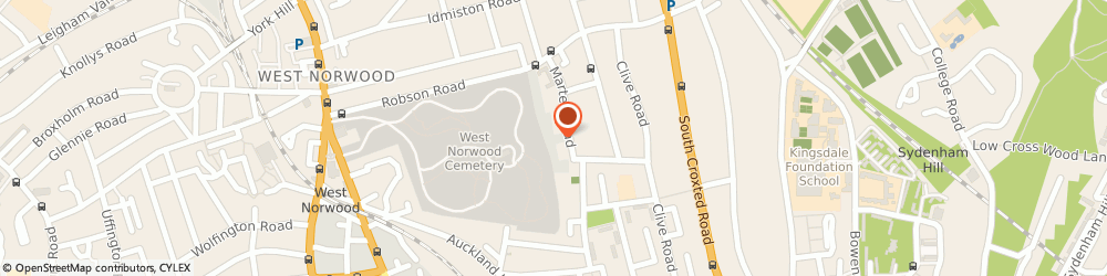 Route/map/directions to We Buy Any Car West Dulwich, SE21 8EN Dulwich, Workspace, Parkhall Business Centre