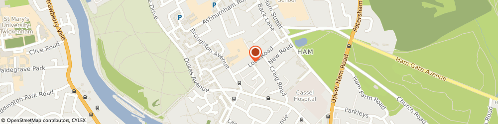 Route/map/directions to Piano & Cello Music Teacher, TW10 7LL Richmond, 67 Lock Rd