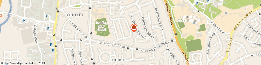 Route/map/directions to M A Carroll, RG2 7LL Reading, 41 STAVERTON ROAD