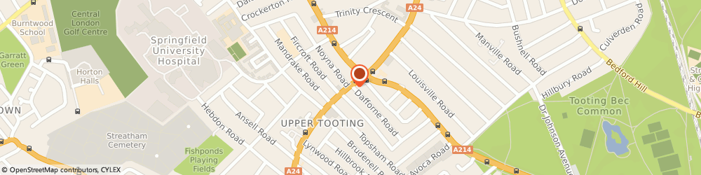 Route/map/directions to Modern Mortgage Solutions Ltd, SW17 7TS London, 17 Upper Tooting Road