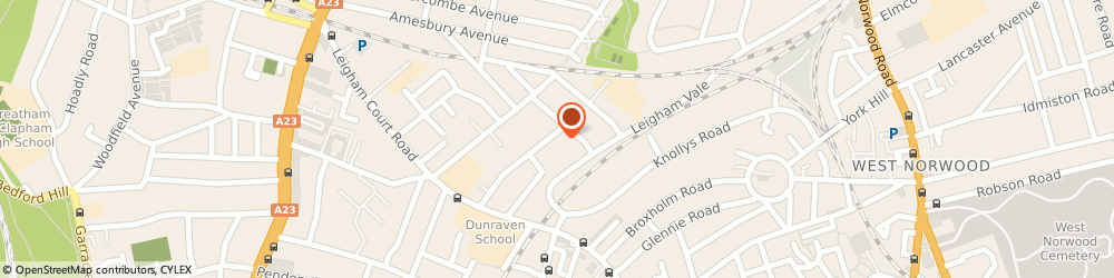 Route/map/directions to Guitar Lessons London, SW16 2LT London, 50 Rosedene Ave