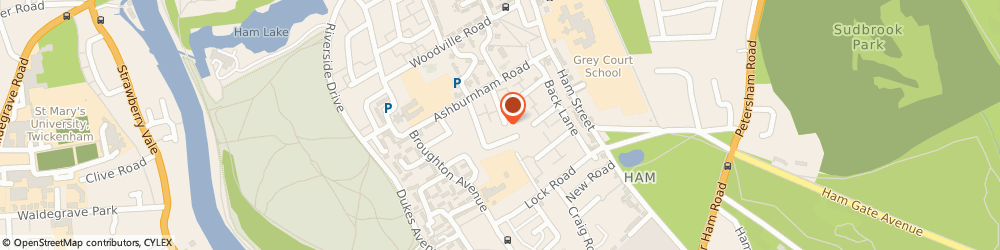 Route/map/directions to Landscaping & Gardening Services, TW10 7NQ Richmond, 30 Mowbray Rd