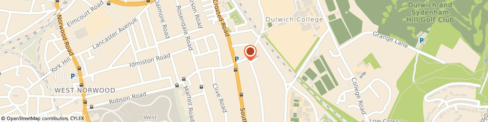 Route/map/directions to Jaadu - A little Indian magic, SE21 8BW London, 92 Park Hall Rd