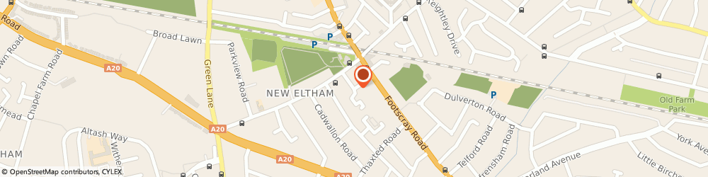 Route/map/directions to The New Eltham Small Group Tutorials, SE9 3TZ London, Bercta Rd