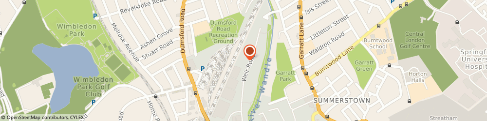 Route/map/directions to With Fire, SW19 8UG London, Unit 16, 55-59 Weir Road