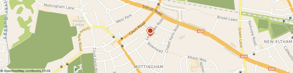 Route/map/directions to A M Valeting, SE9 3NB London, 46 Leysdown Road