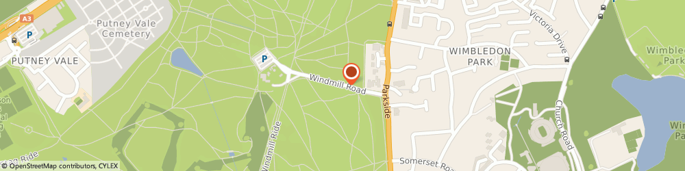 Route/map/directions to Mrs Lois Pimentel - Psychotherapist, SW19 5NQ London, Flat 1 The Clockhouse , Windmill Road