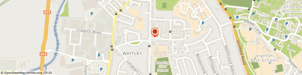 Route/map/directions to Tanfield Residential Home, RG2 7UG Reading, 2 HEXHAM ROAD