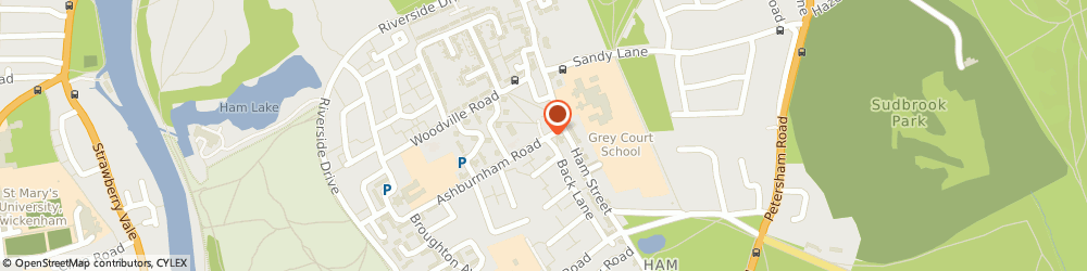 Route/map/directions to Marjana Indian Takeaway, TW10 7NF Richmond, 16, ASHBURNHAM ROAD