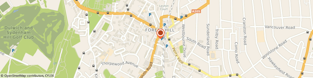 Route/map/directions to The Fitting Studio, SE23 3XU London, 16 Dartmouth Road