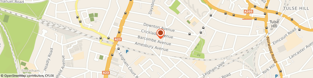 Route/map/directions to Trusted Local Locksmith Brixton SW2, SW2 3BQ London, 123 Barcombe Ave