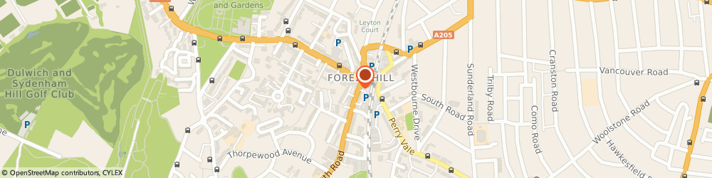 Route/map/directions to Bunka Forest Hill, SE23 3XU London, 4 Dartmouth Rd, Forest Hill