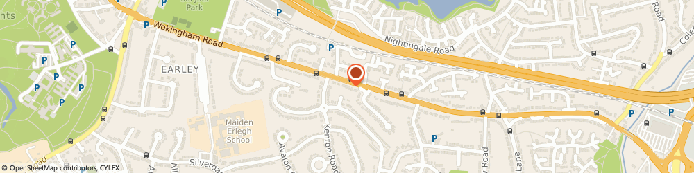 Route/map/directions to Dolphin Independent Mortgage Advice Ltd, RG6 7HY Reading, 462 Wokingham Rd