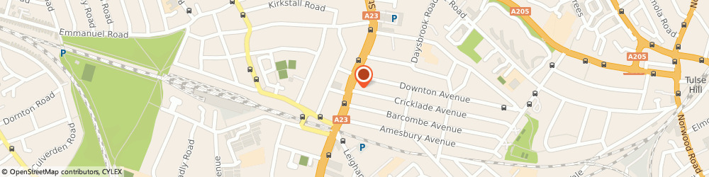 Route/map/directions to Give a Little Shop, SW2 4TX London, 71 Streatham Hill