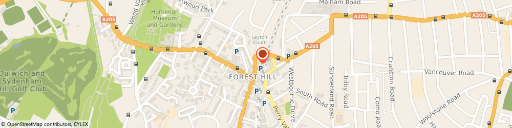 Route/map/directions to Donald James, SE23 3TJ London, 6 DEVONSHIRE ROAD