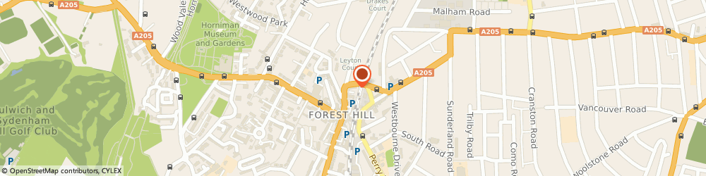 Route/map/directions to Home To Home, SE23 3TJ London, 2 Devonshire Road