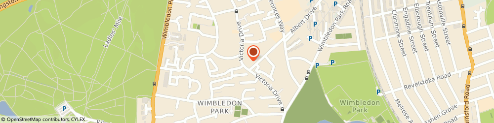 Route/map/directions to Dr Anne Townsend - Psychotherapist, SW19 6PT London, 89E VICTORIA DRIVE