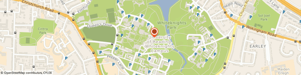 Route/map/directions to Mail Boxes Etc. Reading University, RG6 6UQ Reading, The Queens Drive