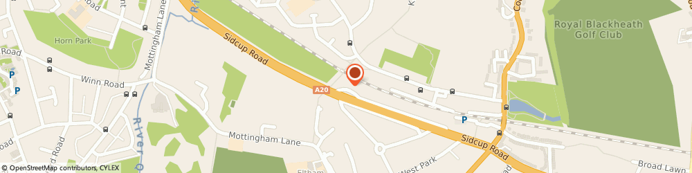 Route/map/directions to RJ Landscapes, SE9 4EU London, 385 Sidcup Rd