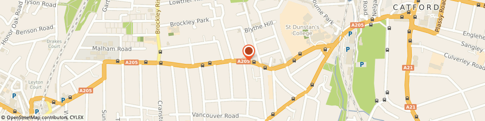 Route/map/directions to Insurance Centre The, SE23 1JB London, 317 STANSTED RD