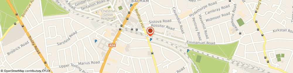 Route/map/directions to Balham Locksmith Services, Locksmith Sw12, SW12 9HD London, Bedford Hill