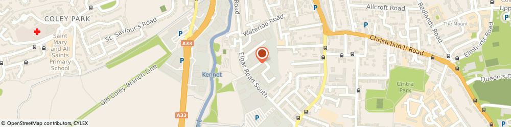 Route/map/directions to FALCON GLOBAL ENTERPRISES LIMITED, RG2 0AU Reading, 1 Britten Road