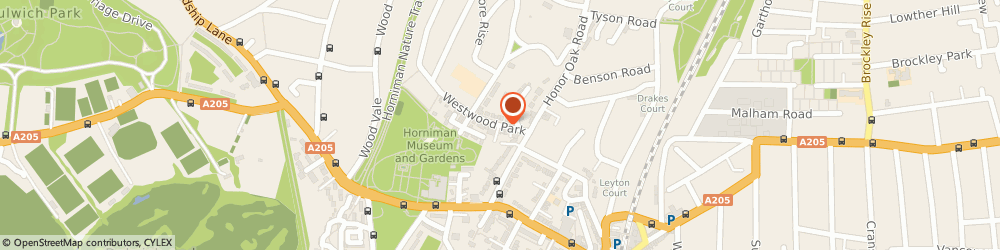 Route/map/directions to Sterling & Law, SE23 3QB London, 10 Westwood Pk