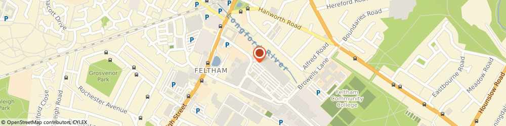 Route/map/directions to We Buy Any Car Feltham, TW13 7EQ Feltham, POD building on car park