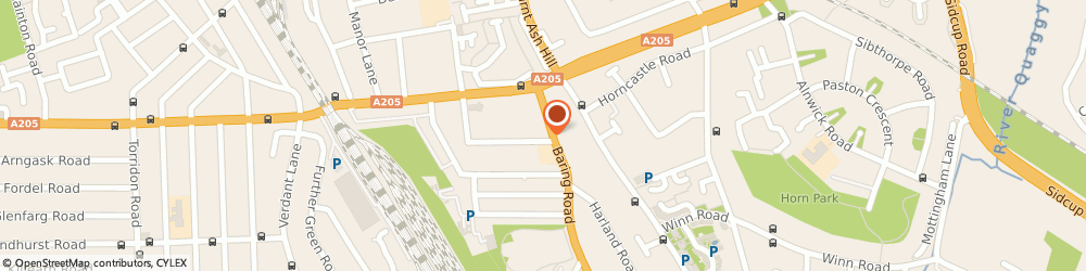 Route/map/directions to Kumon Education Catford Study Centre, SE12 0PW London, Baring Road