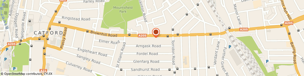 Route/map/directions to Lewisham Young Womens Resource Project, SE6 1AU London, 308 Brownhill Rd