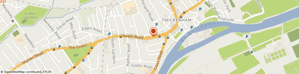 Route/map/directions to Roper Stammers Ltd, TW1 4BX Twickenham, 52-64 HEATH ROAD
