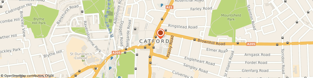 Route/map/directions to NatWest - LONDON, SE6 4BJ London, 159 Rushey Green