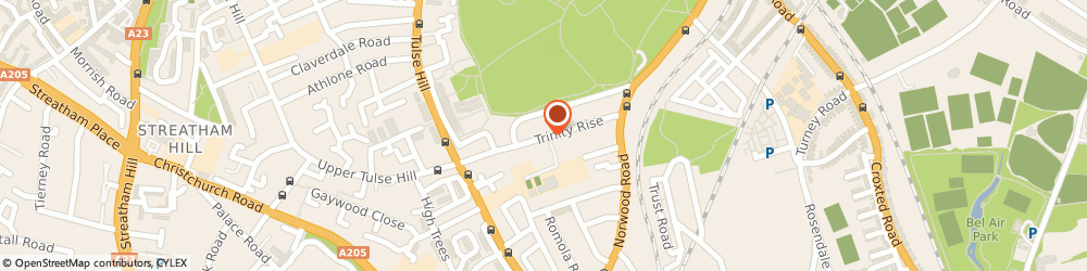 Route/map/directions to Brixton Locksmith, SW2 2QP London, 43 Trinity Rise Lambeth