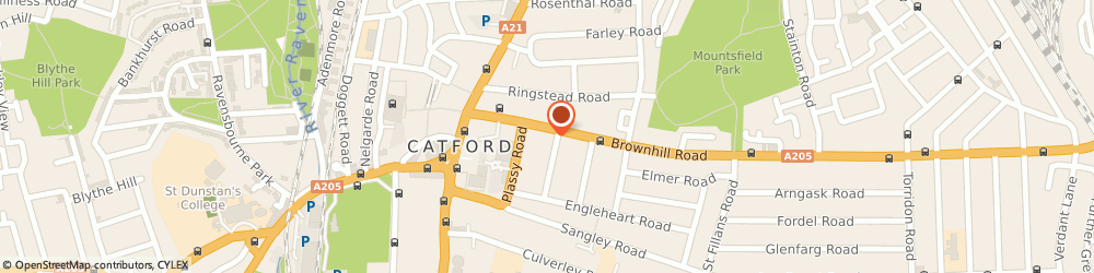 Route/map/directions to Storage Catford, SE6 2EJ London, 18 Brownhill Rd