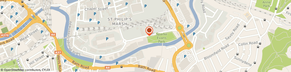Route/map/directions to Travis Perkins, BS2 0YA Bristol, Albert Road, St Philips