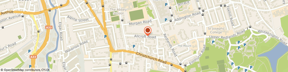 Route/map/directions to Baydrift Systems Ltd, RG1 5HH Reading, 2 ALLCROFT ROAD