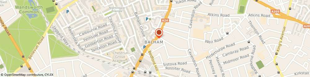 Route/map/directions to Local Locksmith Balham, SW12 9AP London, 112 Balham High Road