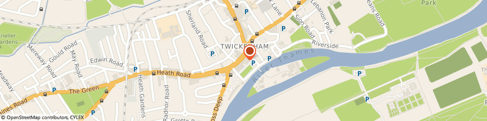 Route/map/directions to Flawless Physio, TW9 1ND Richmond, 9 King St