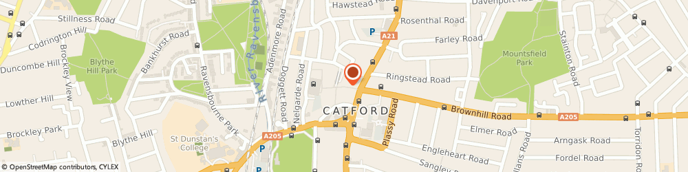 Route/map/directions to F&F Clothing, SE6 4JU London, 16-21 Winslade Way