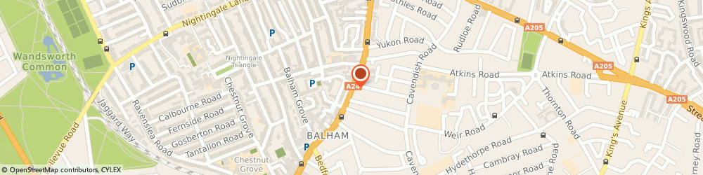 Route/map/directions to Andrew Kent & Partnerslimited, SW12 9AL London, 23 Balham High Road