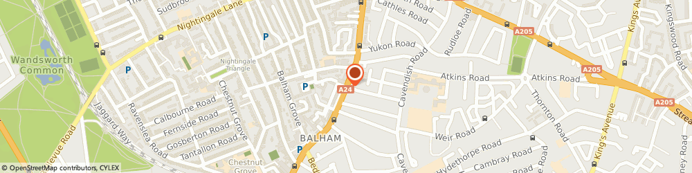 Route/map/directions to Daves SW12 Locksmiths, SW12 9AN London, 441 Balham High road
