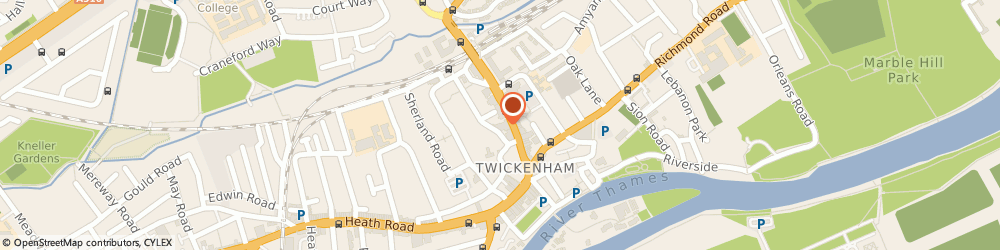 Route/map/directions to Twickenham Police Station, TW1 3SY London, 41 London Road