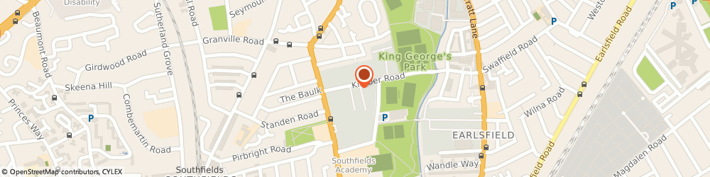 Route/map/directions to Travis Perkins, SW18 4PP London, 54 Kimber Road, Wandsworth
