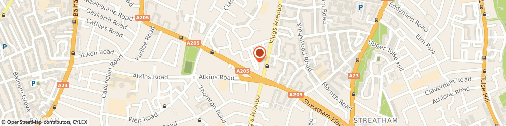 Route/map/directions to Mendoza Contract Cleaning, SW4 8HB London, 47 Bowie Close