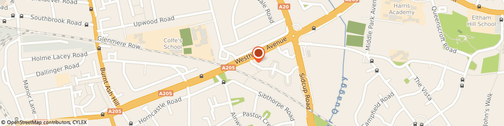 Route/map/directions to Macdonald Book-Keeping Services, SE12 9AF London, 1 ALWOLD CRESCENT